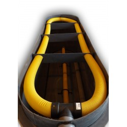 Filtr pískový zemní, délka 6500mm