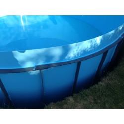 Kruhový bazén 3,5 m, hloubka 130 cm
