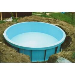 Kruhový bazén 4 m, hloubka 150 cm