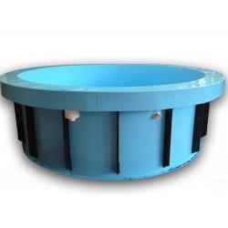 Kruhový bazén 5 m, hloubka 130 cm