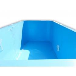 Bazén se zaoblenými rohy 3x4 m, hloubka 130 cm