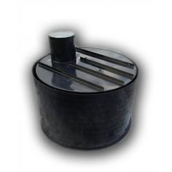 Retenčná nádrž proti spodnej vode 2m3 dvojplášťová - na úžitkovú, dažďovú vodu
