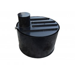 Retenčná nádrž proti spodnej vode 1m3 dvojplášťová - na úžitkovú, dažďovú vodu
