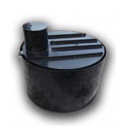 Retenčná nádrž proti spodnej vode 4m3 dvojplášťová - na úžitkovú, dažďovú vodu