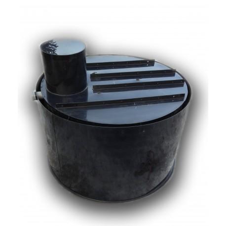 Retenční nádrž proti spodní vodě 4m3 dvouplášťová - na užitkovou, dešťovou vodu