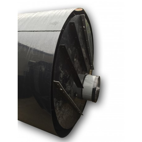 Retenční nádrž proti spodní vodě 13m3 dvouplášťová - na užitkovou, dešťovou vodu