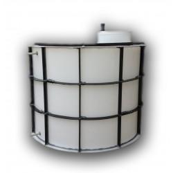 Nádrž na pitnou vodu dvouplášťová 5m3 - proti spodní vodě