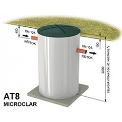 Čistička odpadových vôd AT8