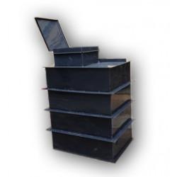 Hranatá retenční nádrž samonosná 2m3 na užitkovou, dešťovou vodu
