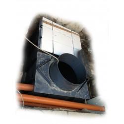 Hranatá retenční nádrž samonosná 5m3 na užitkovou, dešťovou vodu
