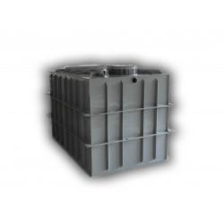 Hranatá retenční nádrž samonosná 8m3 na užitkovou, dešťovou vodu