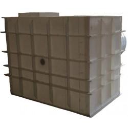 Hranatá retenční nádrž samonosná 9m3 na užitkovou, dešťovou vodu