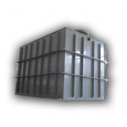 Hranatá retenční nádrž samonosná 10m3 na užitkovou, dešťovou vodu