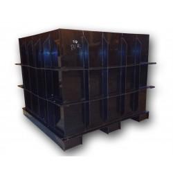 Hranatá retenční nádrž pro obetonování 6m3 na užitkovou, dešťovou vodu
