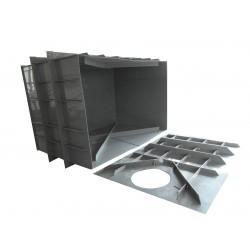 Hranatá retenční nádrž pro obetonování 7m3 na užitkovou, dešťovou vodu